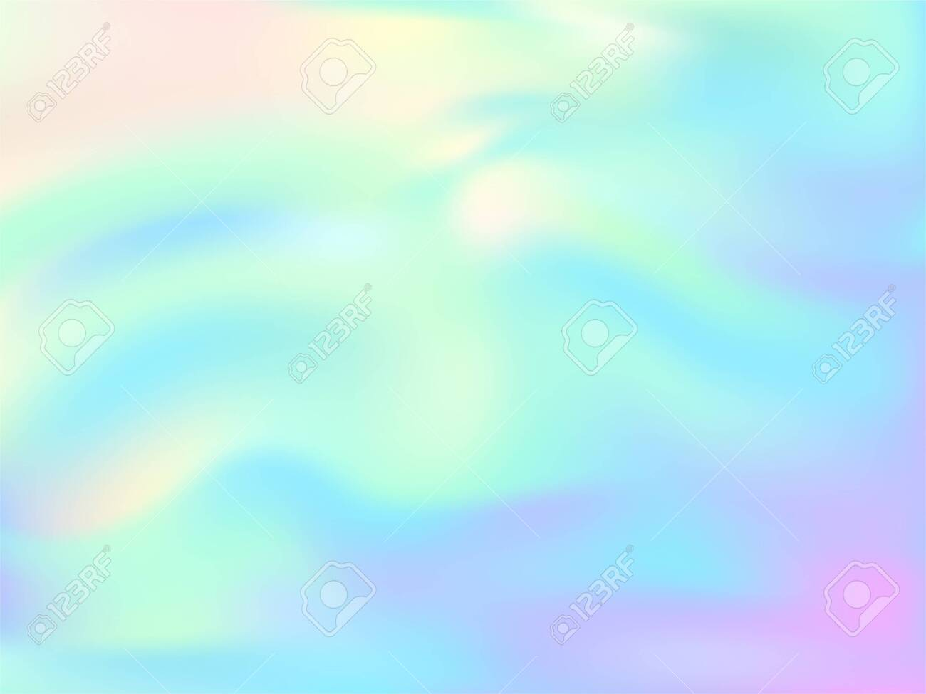 Blurred Hologram Texture Gradient Wallpaper Lucid Pastel Rainbow Royalty Free Cliparts Vectors And Stock Illustration Image 139646099