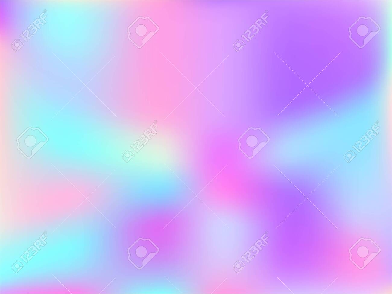 Blurred Hologram Texture Gradient Wallpaper Trendy Iridescent Royalty Free Cliparts Vectors And Stock Illustration Image 140888813
