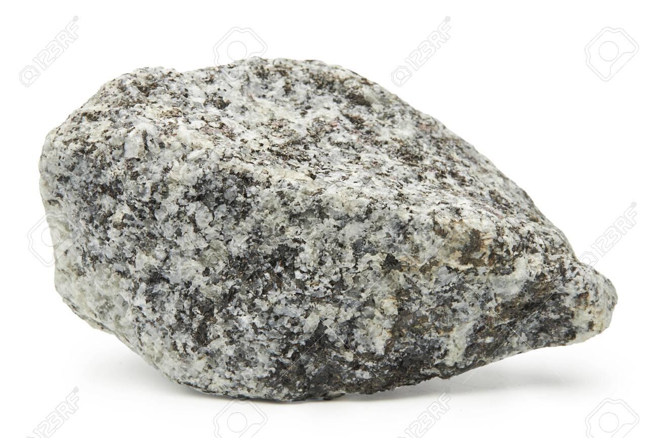 Large rock stone isolated on a white background. - 157096230