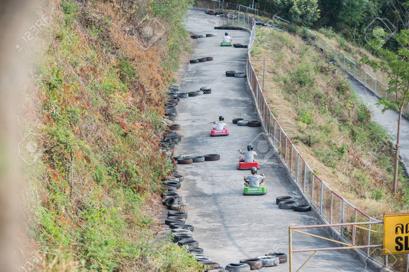 Downhill Kart Stock Photo Picture And Royalty Free Image Image