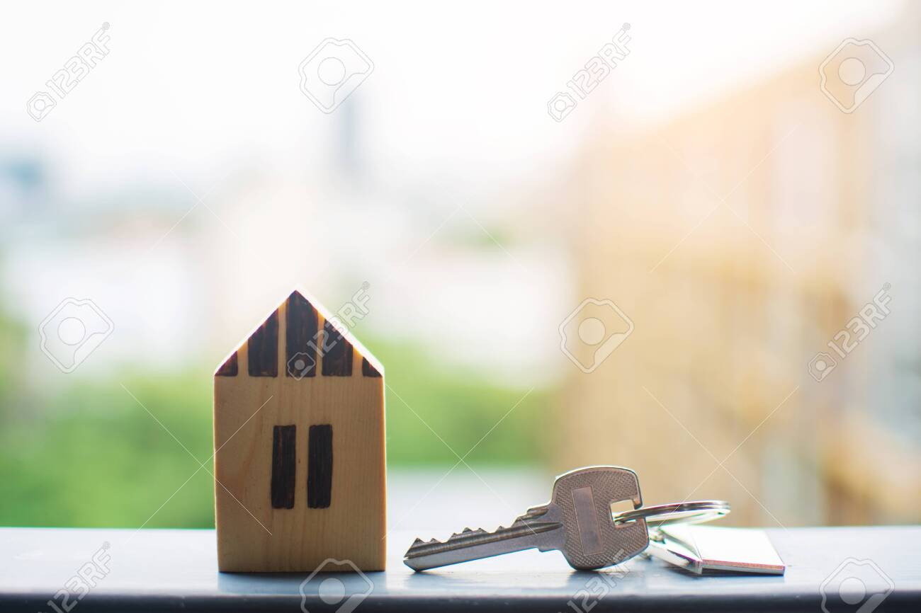 close up key , personal loan concept. subject is blurry. - 149141841
