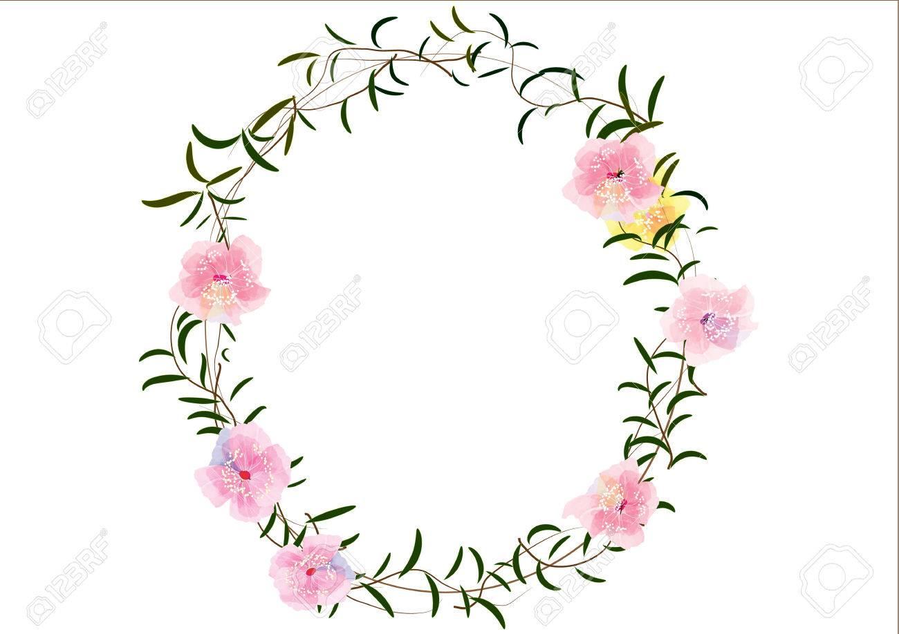 Frontera O Marcos Flores Creadas, Flores De Cerezo Marcos De ...