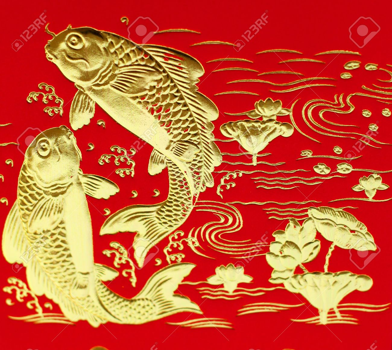Auspicious double fish symbol for chinese stock photo picture and auspicious double fish symbol for chinese stock photo 26244843 buycottarizona Gallery