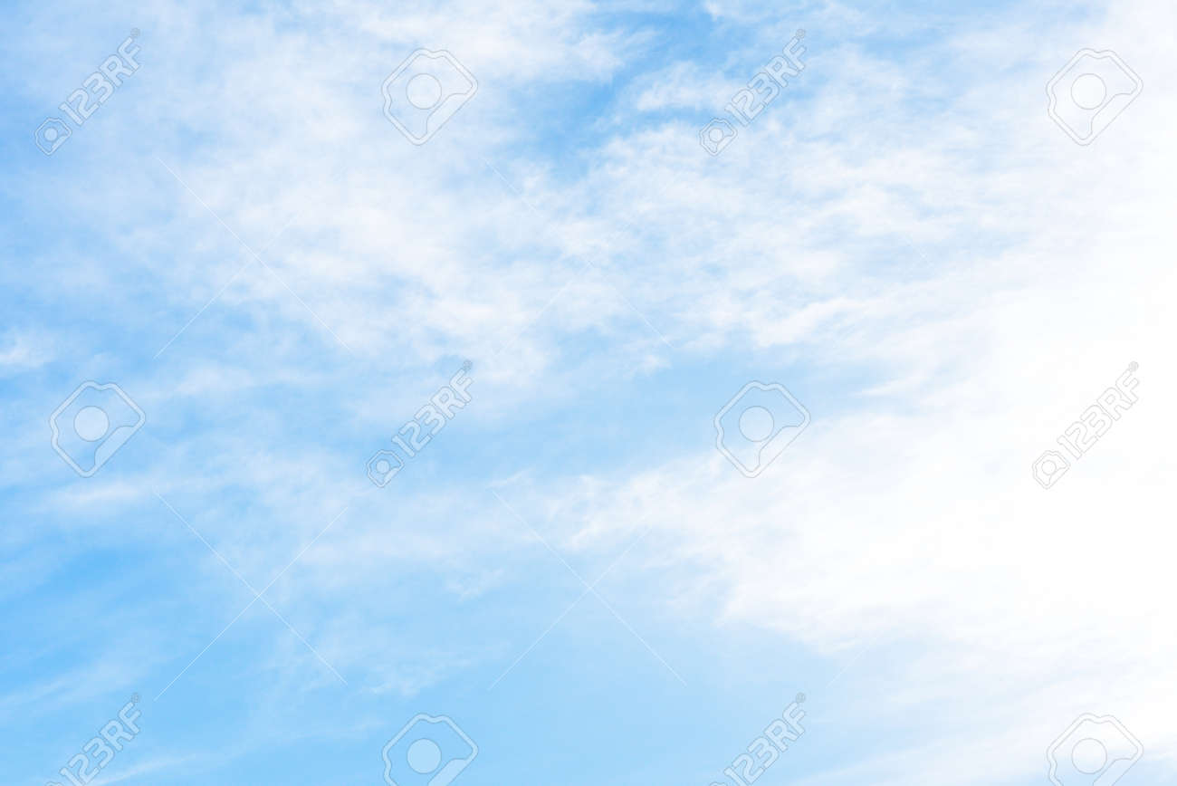 Blue sky background with green fields. - 147123413