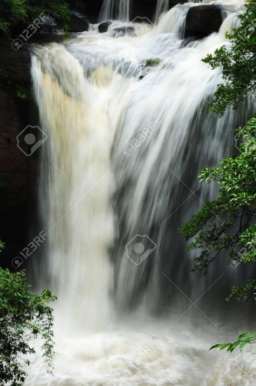Waterfall in Khao Yai National Park, Thailand Stock Photo - 9704049