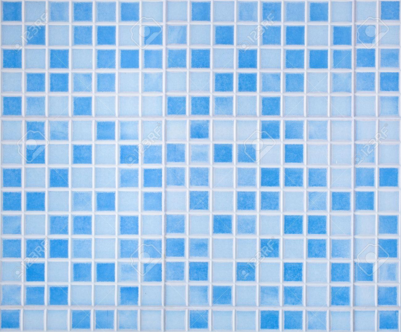 Couleur Carreaux De Fond Mosaique Bleue Pour Salle De Bains Banque D Images Et Photos Libres De Droits Image 44943498