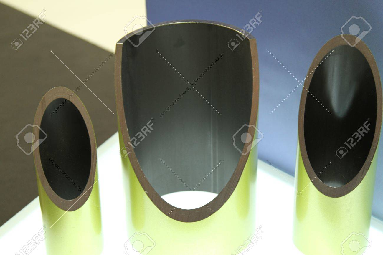 metal profiles tube foundation for building structures, steel Stock Photo - 12987747