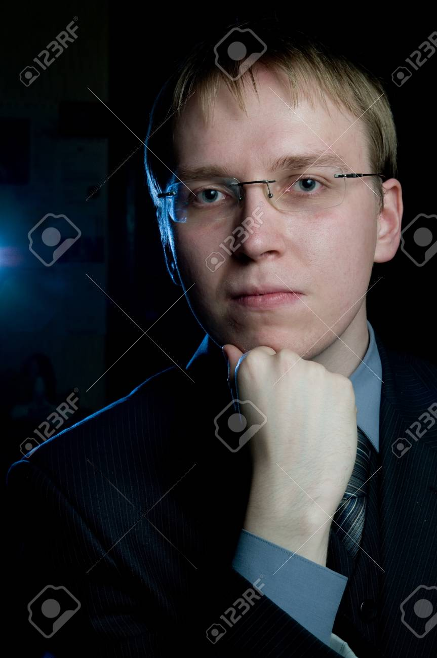 Portrait of young man Stock Photo - 4545846