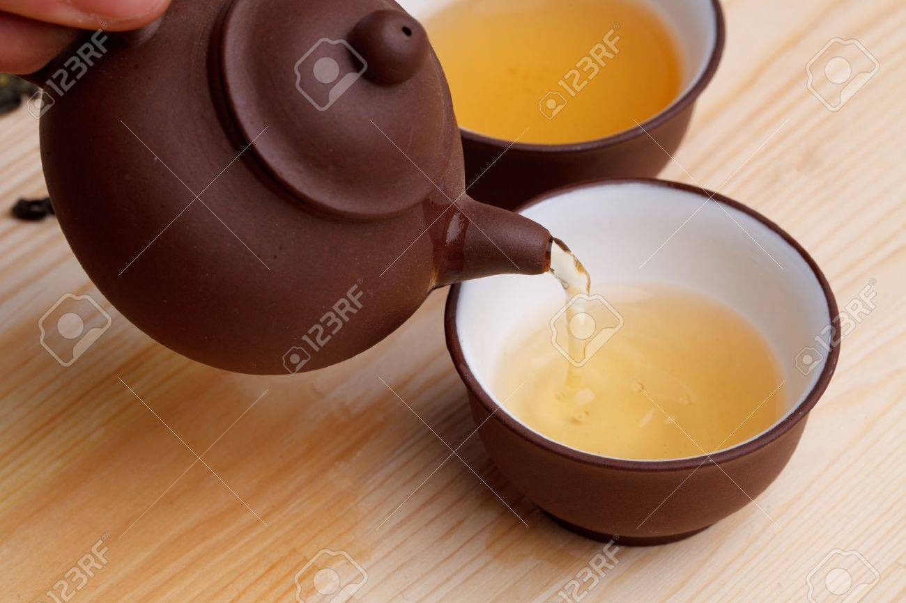 Green tea Stock Photo - 8996876
