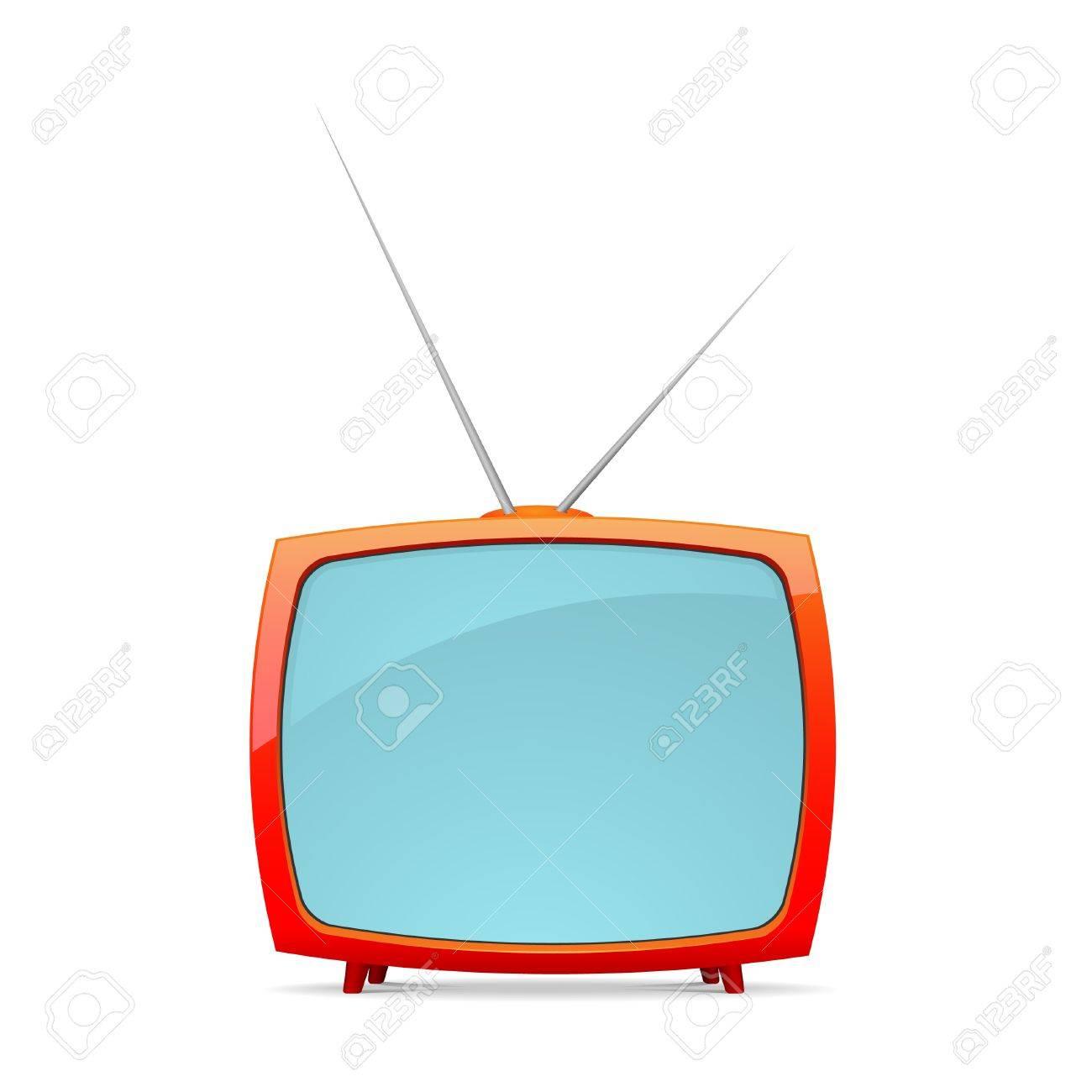 Vector retro tv Stock Vector - 9198536