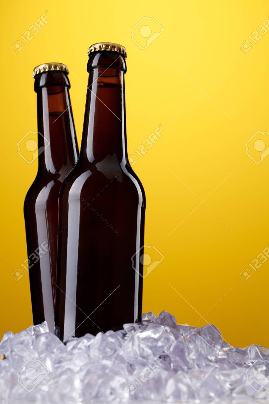 Two bottles of beer Stock Photo - 9752266