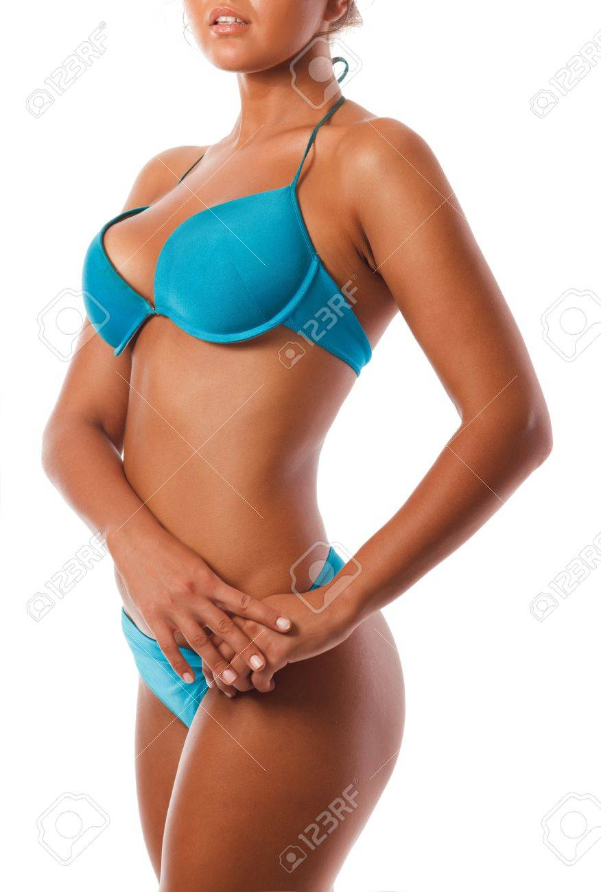 Blue  bikini Stock Photo - 10222900