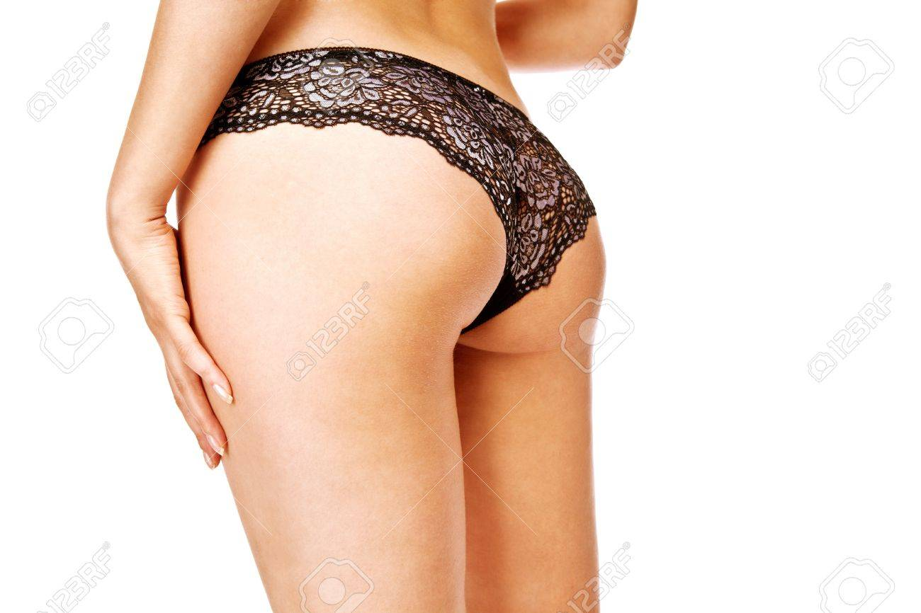 Woman take off her panties Stock Photo - 12527472
