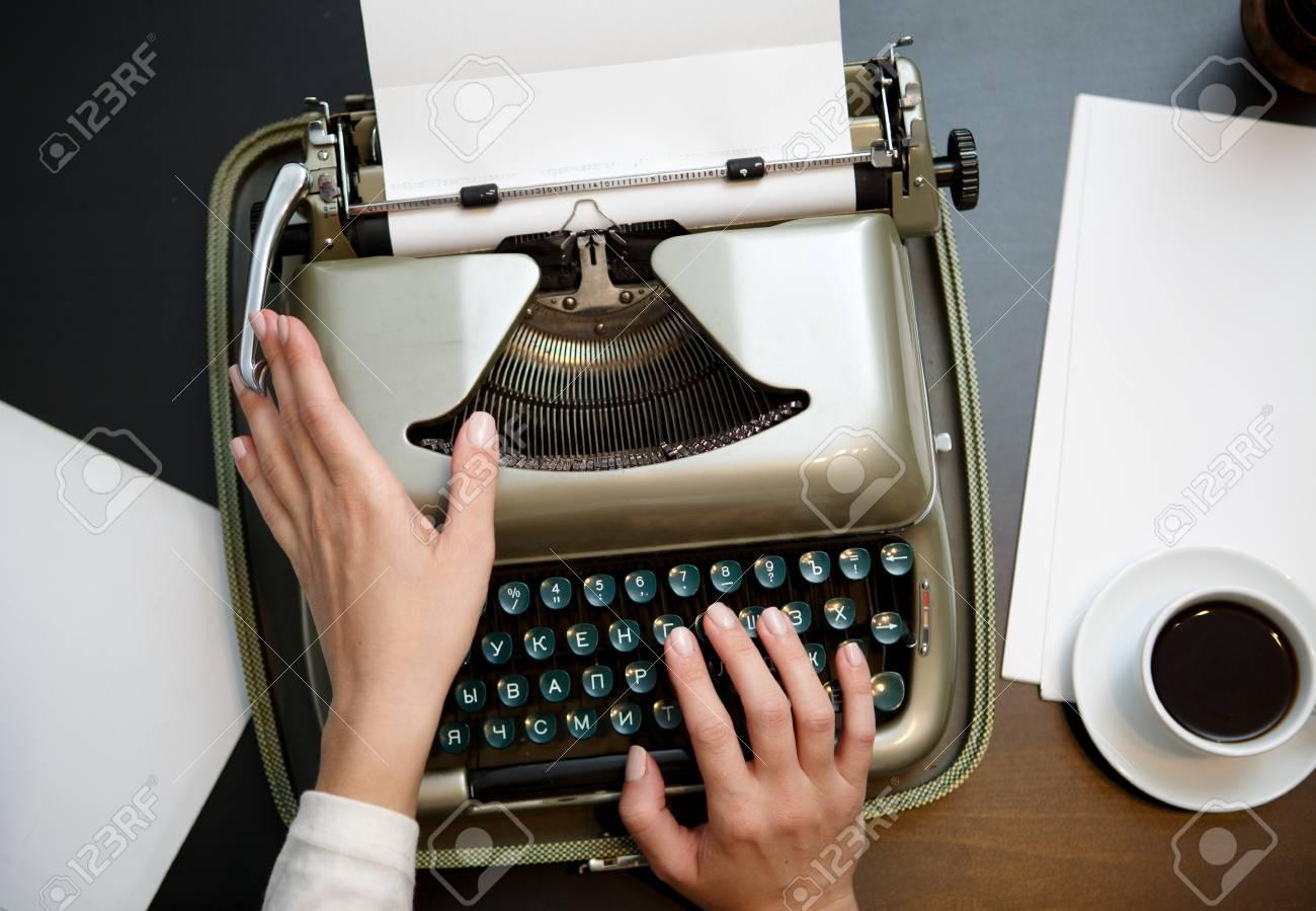 schreibmaschine schreiben