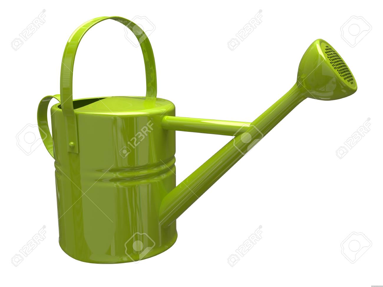 Garden watering can Stock Photo - 9923734