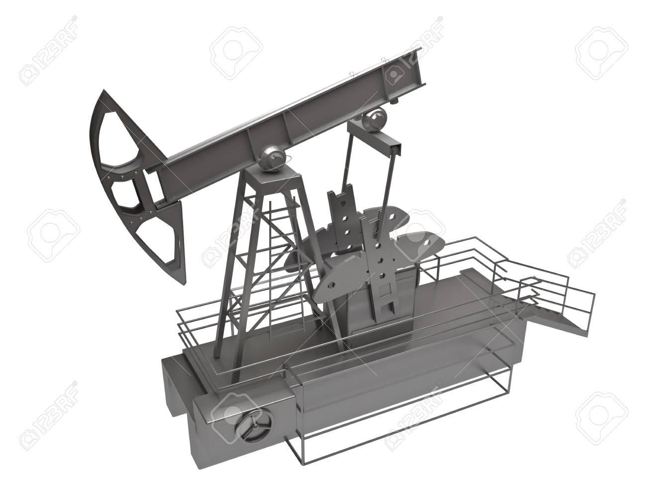 Oil rig Stock Photo - 10111725