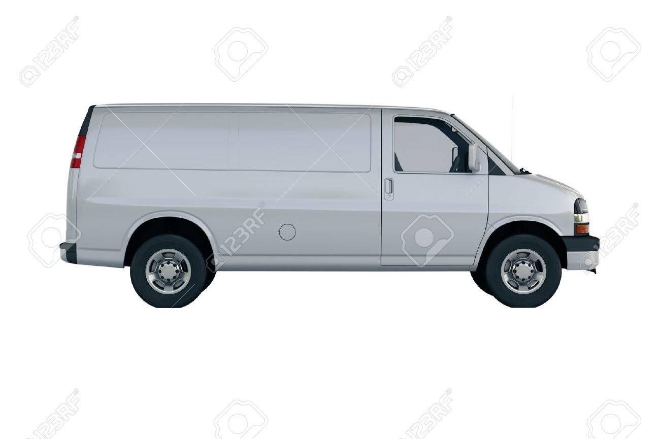 Commercial vehicle in the studio on a light background - 20560685