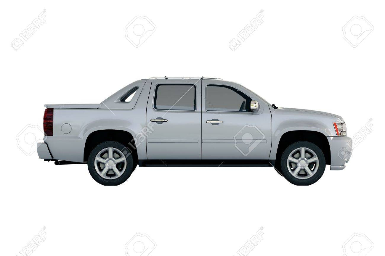 Commercial vehicle in the studio on a light background - 20560681