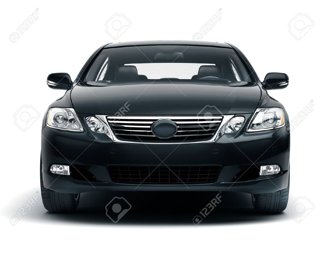 Luxury car in the studio on a light background Stock Photo - 20561288
