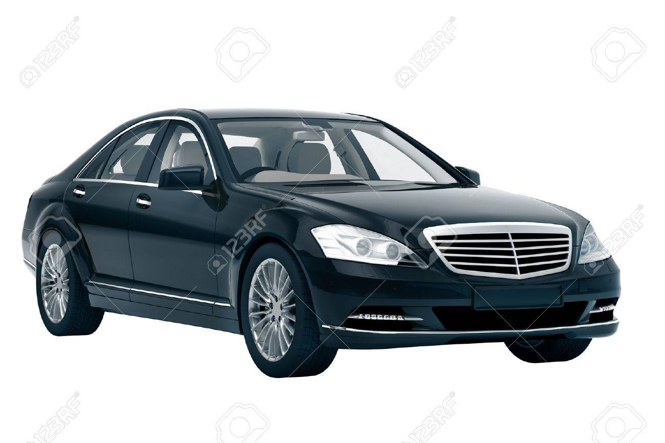 Luxury car in the studio on a light background Stock Photo - 20561213