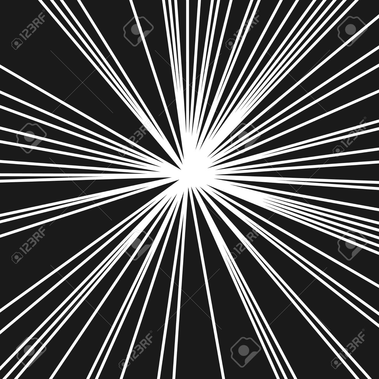 stripes image with light beams and rays radial lines background