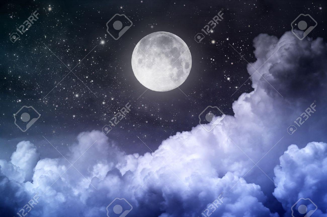 Fotos de lua cheia no mar 16