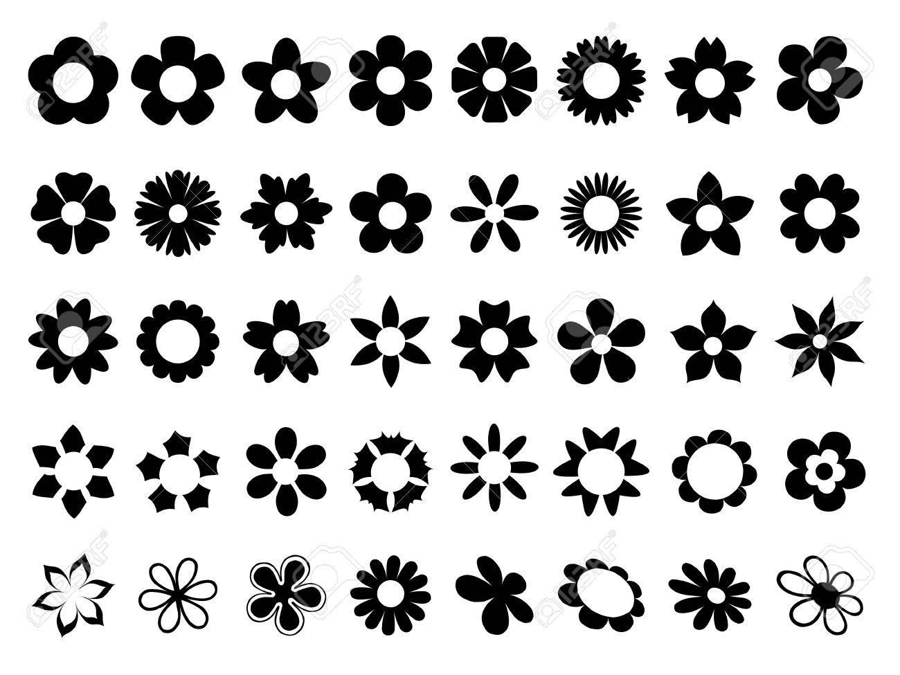 Set of flowers - 61753243
