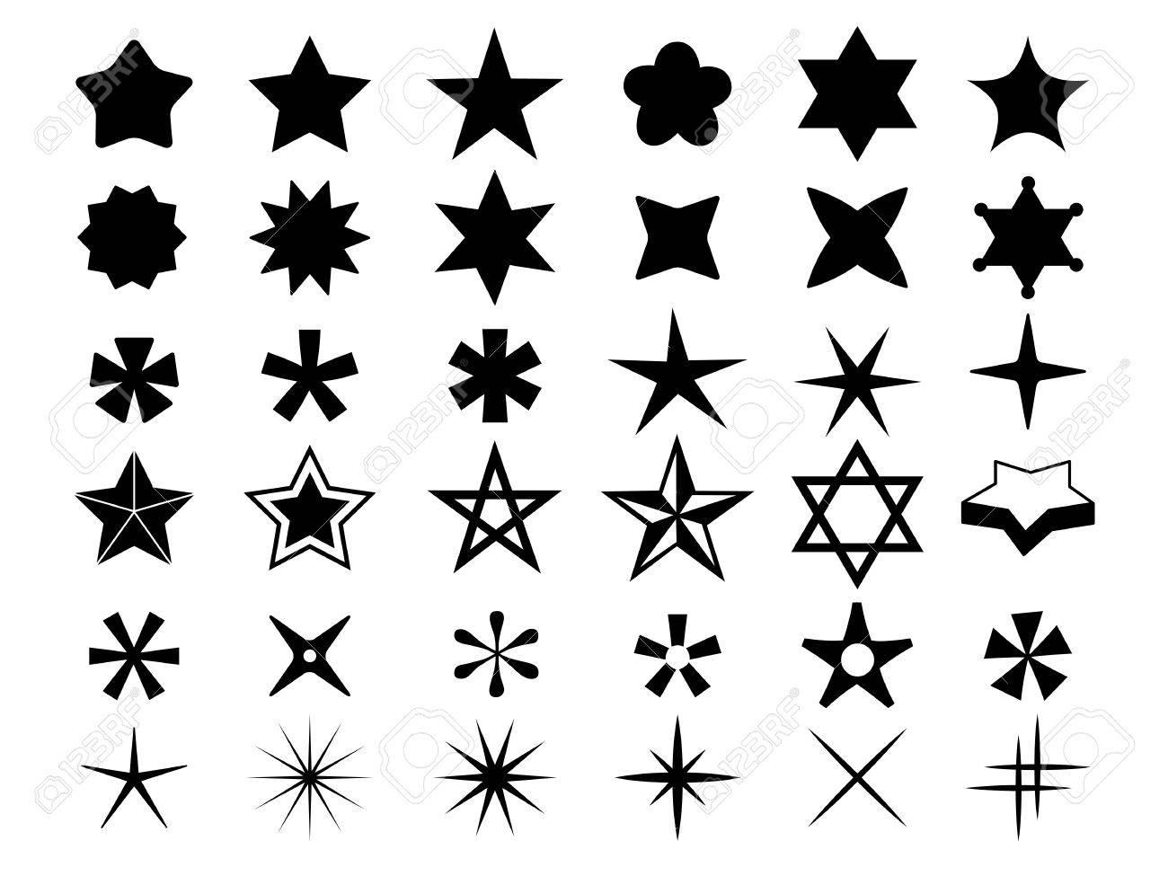 Star icons - 61753119