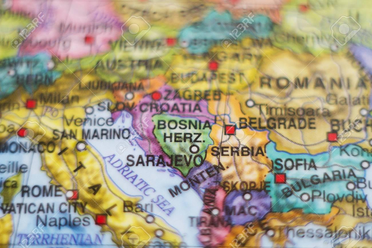 Sarajevo World Map Serbia on nanjing world map, normandy world map, prague world map, st. petersburg world map, london world map, athens world map, sofia world map, warsaw world map, palikir world map, dresden world map, nagano world map, innsbruck world map, konya world map, belgrade world map, golan heights world map, bosnia world map, jerusalem world map, lyon world map, vienna world map, mostar world map,