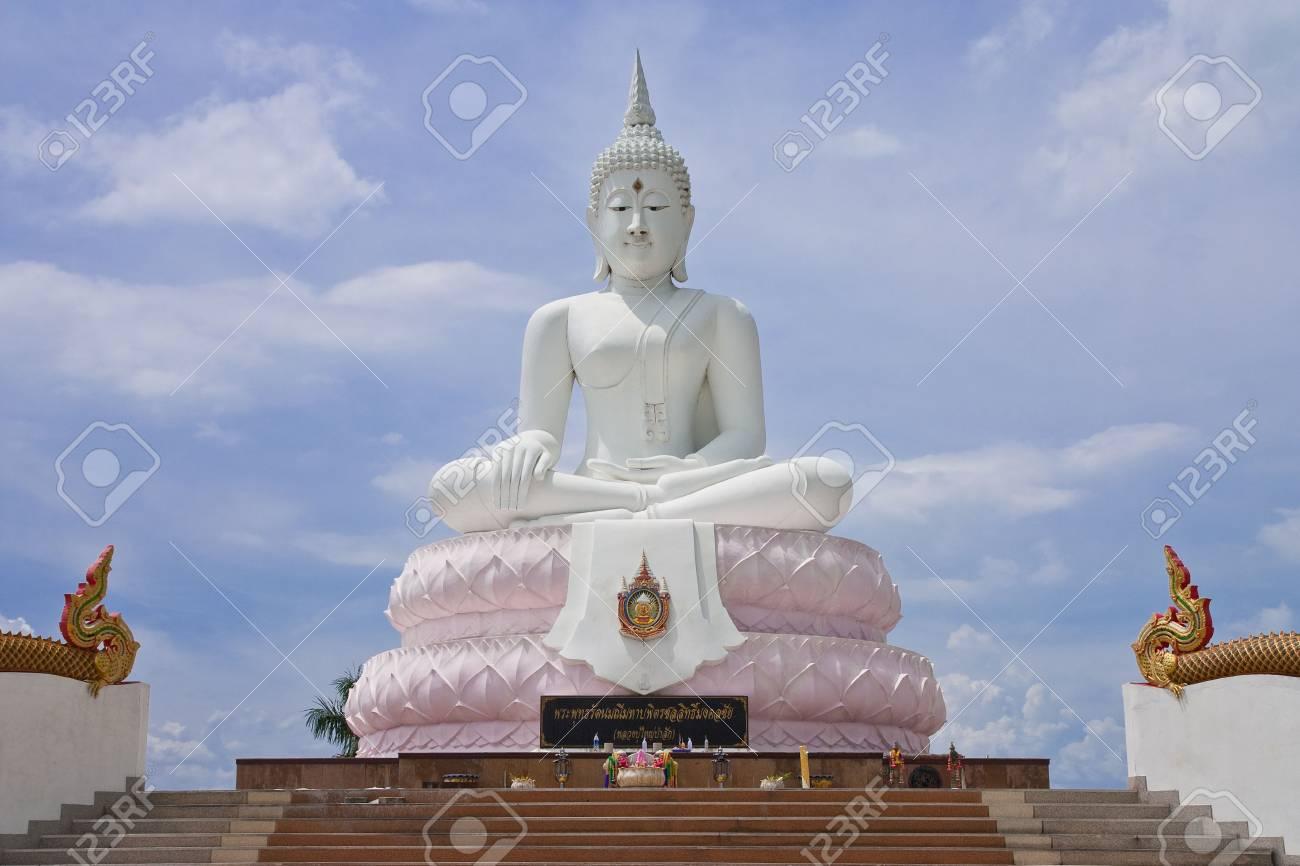 White Buddha image, Thailand Stock Photo - 5517929
