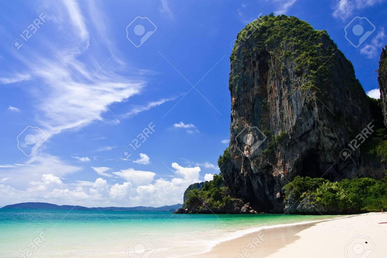 Rai Lay beach, south of Thailand Stock Photo - 5610033