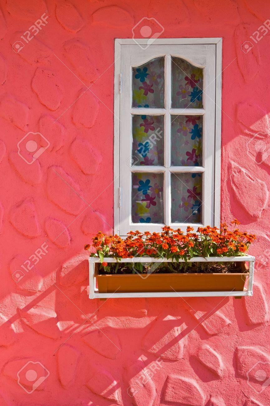 Window and flower box Stock Photo - 5977459
