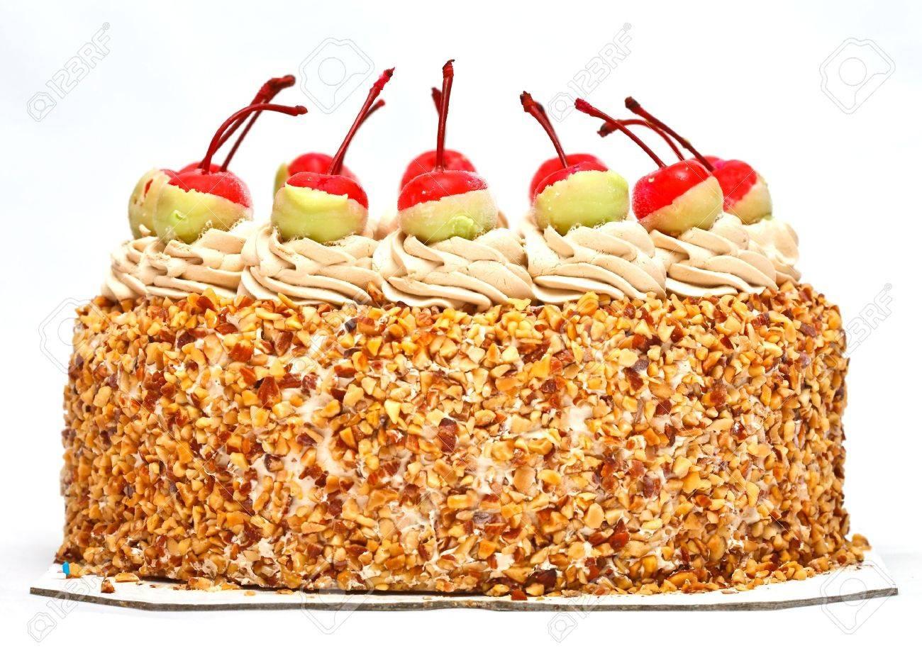 Cherries on top of cake Stock Photo - 8582612
