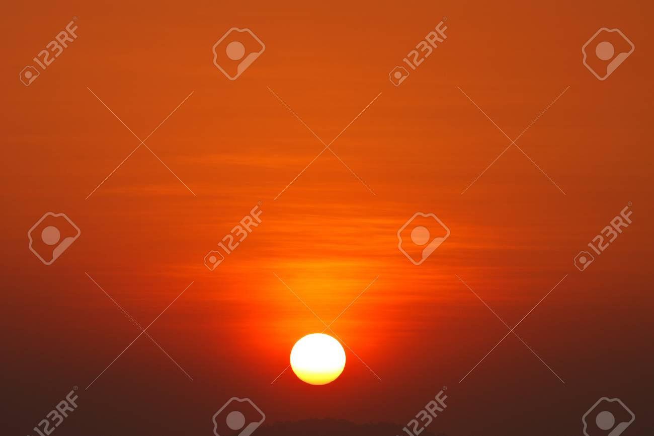 Colorful sky at sunset Stock Photo - 12392850