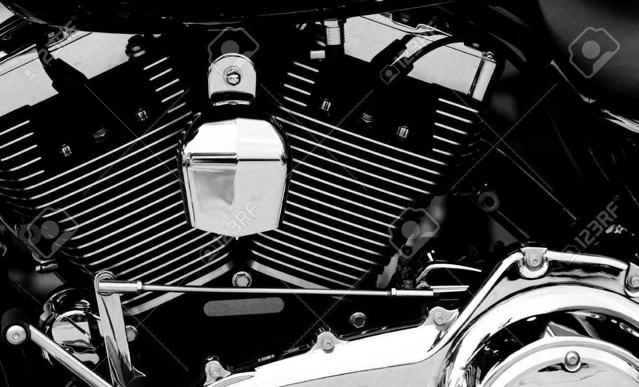 Motorcycle engine Stock Photo - 12769791