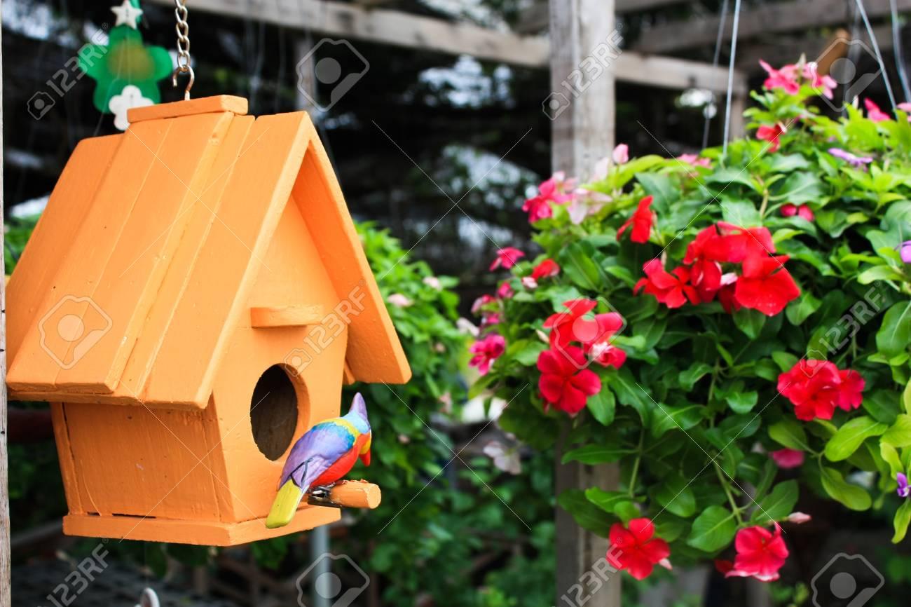 Bird house Stock Photo - 7152458