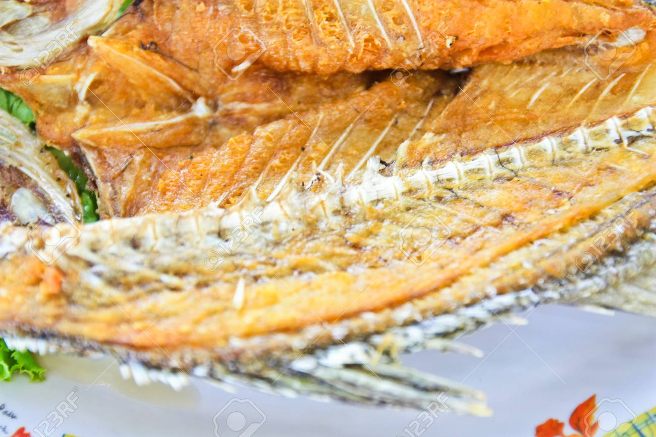 Fried fish Stock Photo - 7463802