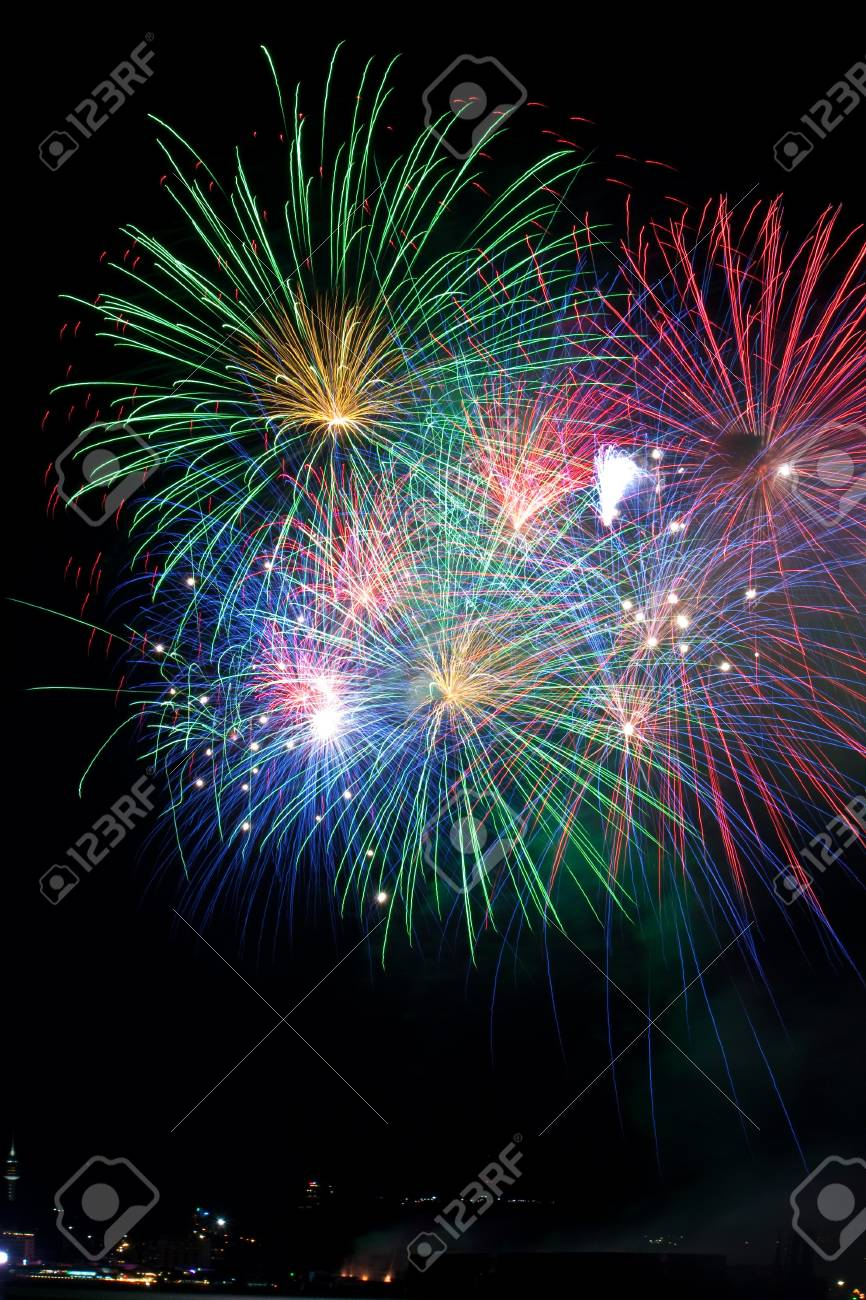 Fireworks Stock Photo - 7603653