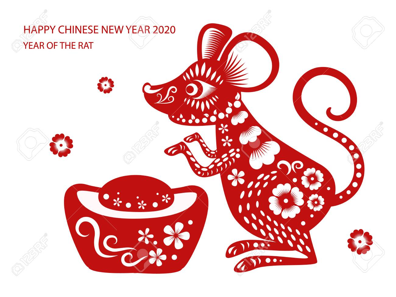 Chinese New Year 2020 Animal.Happy Chinese New Year 2020 Year Of The Rat