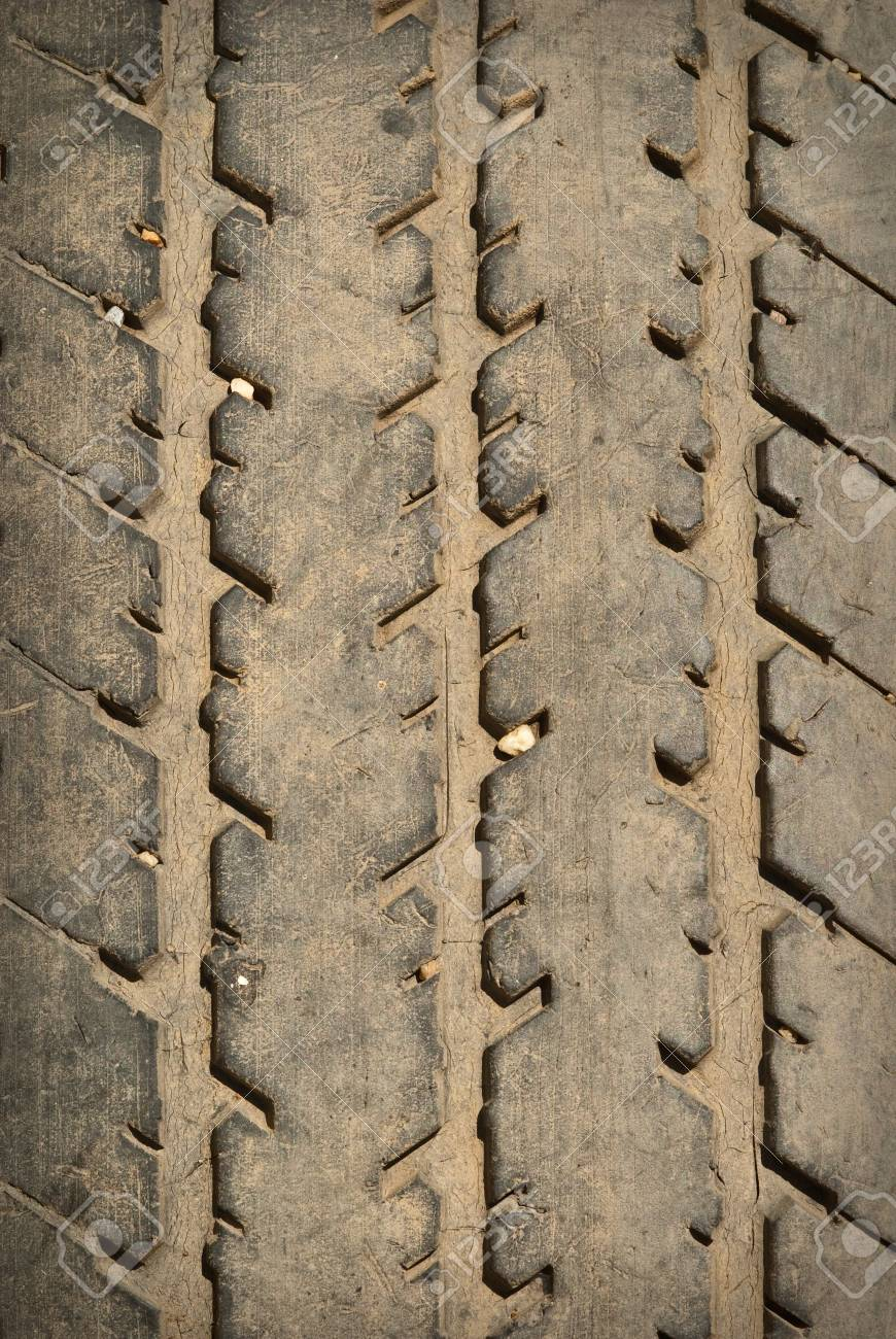 old car tire close up Stock Photo - 7403312