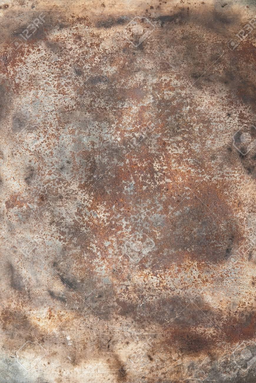 close up of rusty metallic surface Stock Photo - 9144988