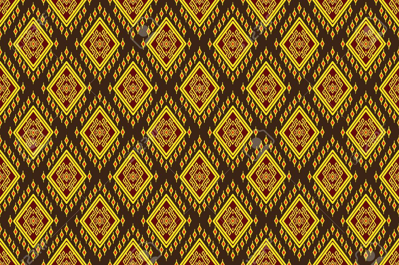 Geometric Ethnic Pattern Design For Background Carpet Wallpaper Clothing Wrapping Batik Fabric Vector Royalty Free Cliparts Vectors And Stock Illustration Image 61032263