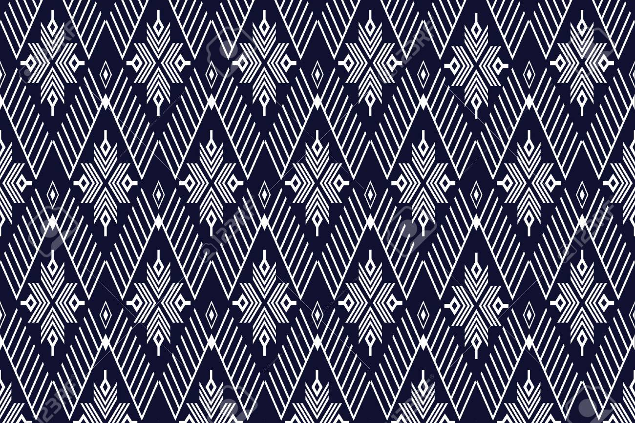 背景や壁紙の幾何学的なエスニック模様のイラスト素材 ベクタ Image