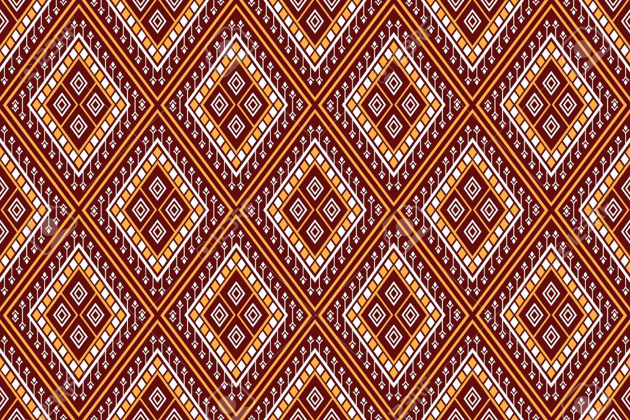Geometric Ethnic Pattern Traditional Design For Background Carpet Wallpaper Clothing Wrapping Batik Fabric Sarong Vector Royalty Free Cliparts Vectors And Stock Illustration Image 86753230