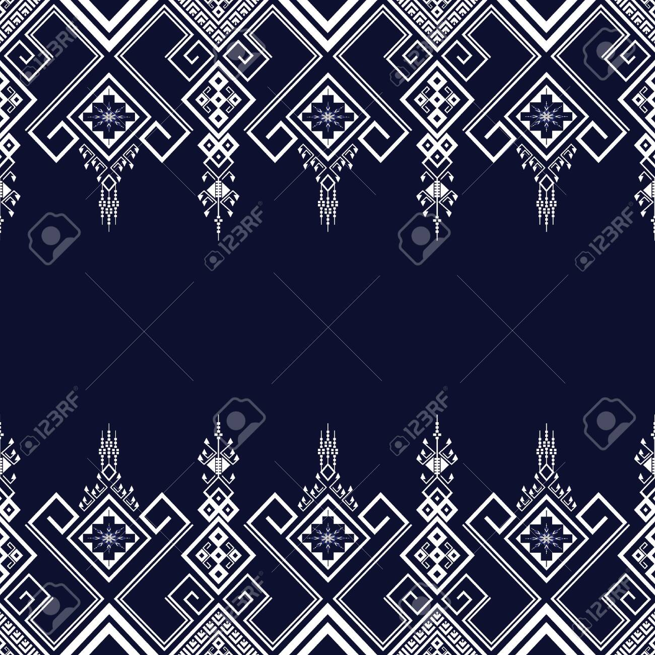 Geometric Ethnic Pattern Traditional Design For Background Carpet Wallpaper Clothing Wrapping Batik Fabric Sarong Vector Royalty Free Cliparts Vectors And Stock Illustration Image 127591618