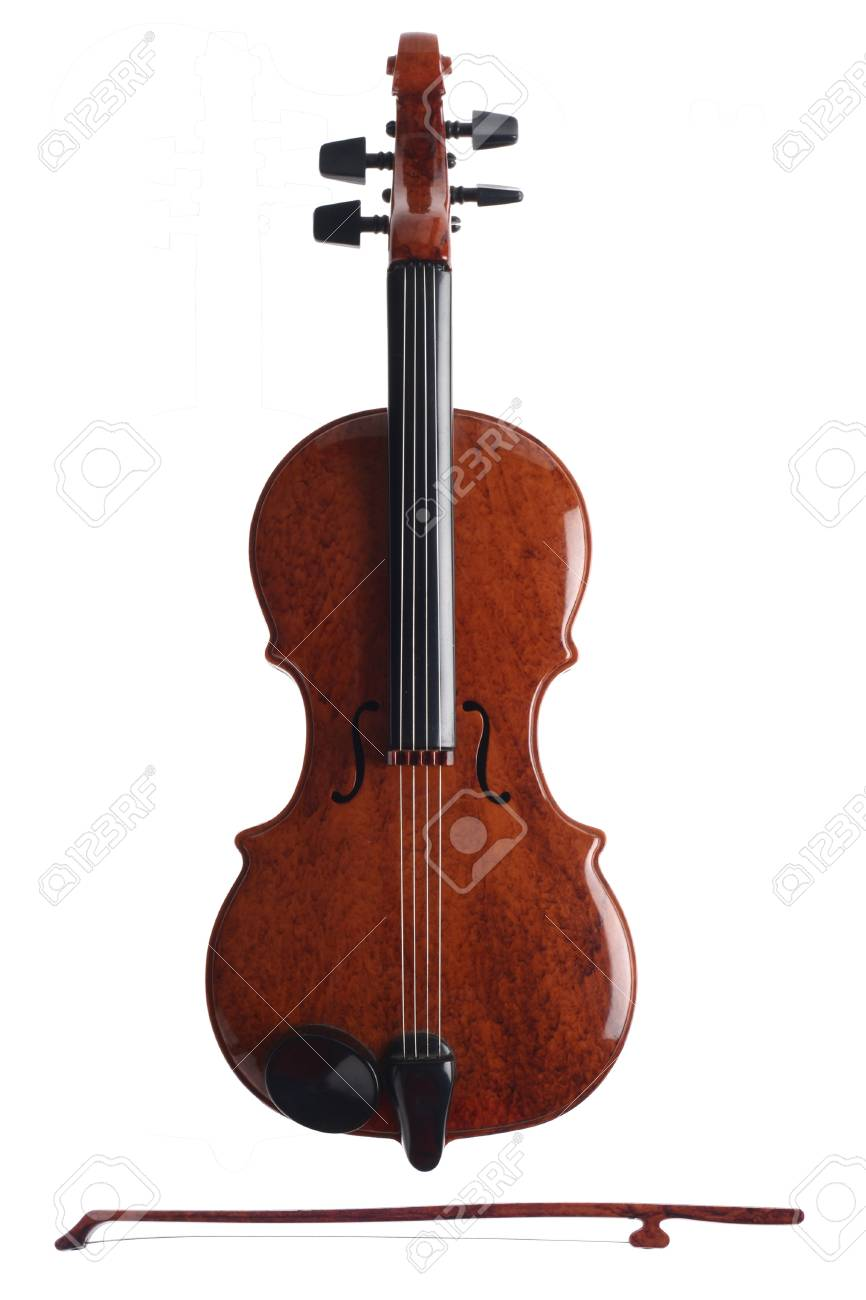 Violin christmas ornaments - Stock Photo Violin Ornament
