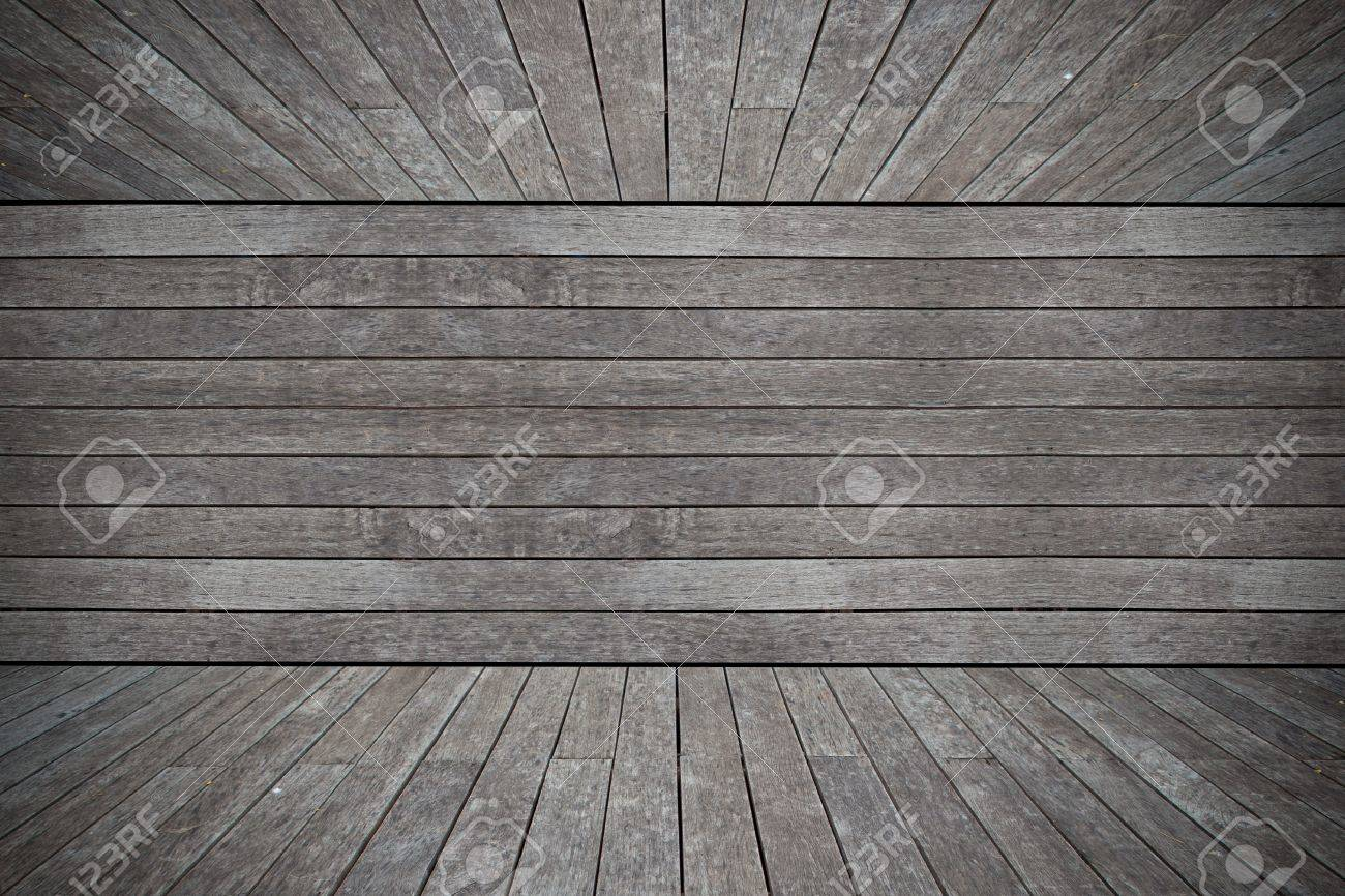 Grunge old wood texture room background Stock Photo - 12998721