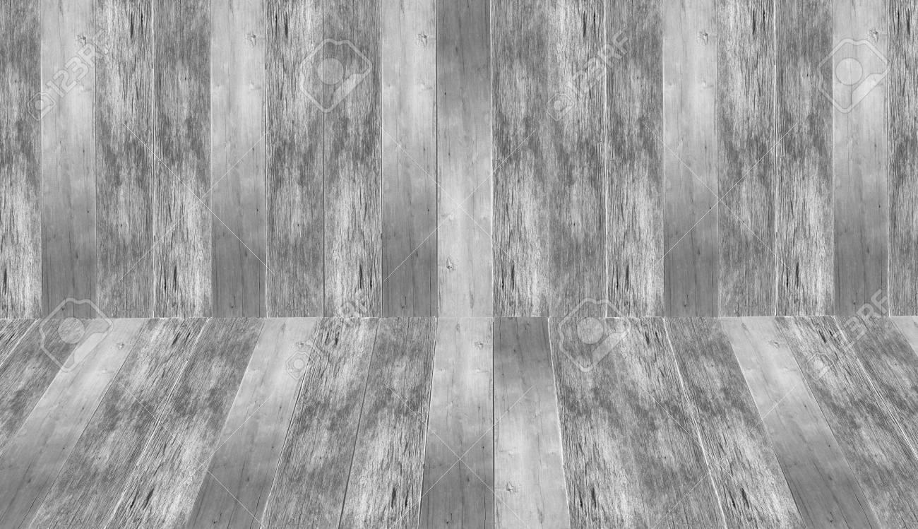 Legno Bianco E Nero : Camera in legno bianco e nero come sfondo foto royalty free