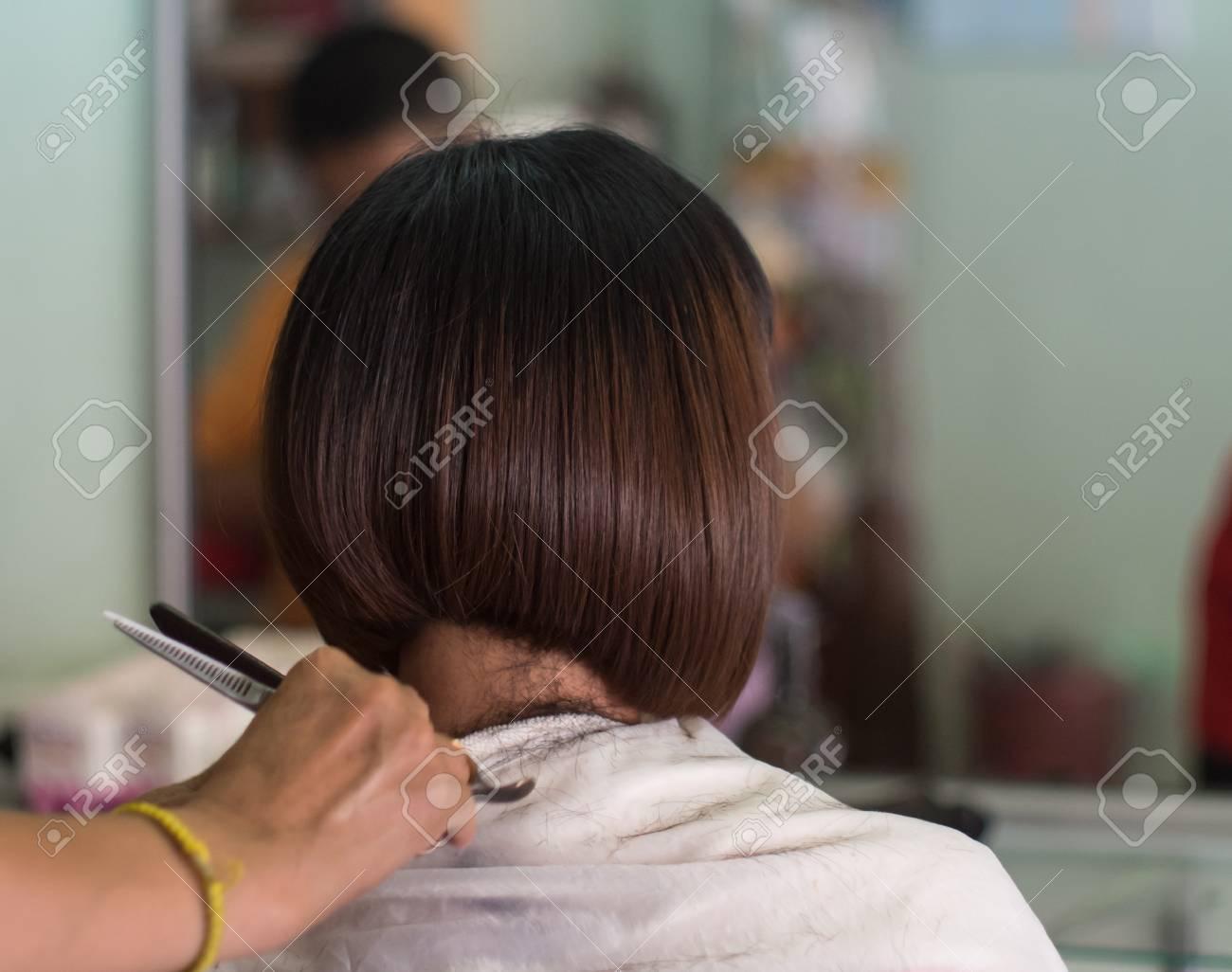Coupe cheveux courts femme asiatique