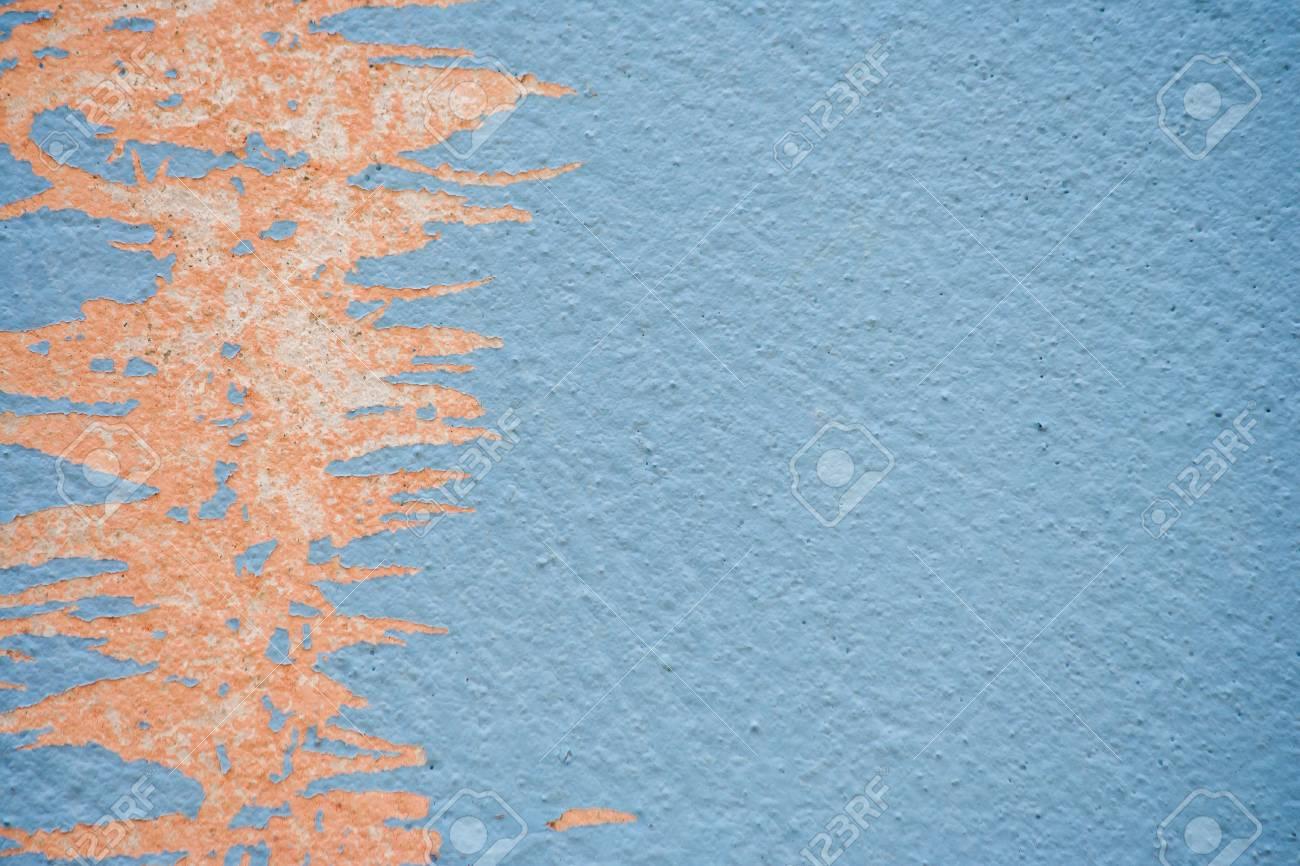 Peindre Sur Le Mur Peeling Texture Transparente Avec Motif En Matériau Grunge Bleu Rustique Effet De Filtre Hdr
